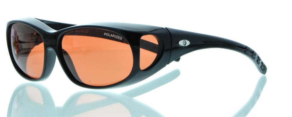 1A-sehen.de Brille Überzieh Sonnenbrille Polarized 15-583101 YRZNJ7x