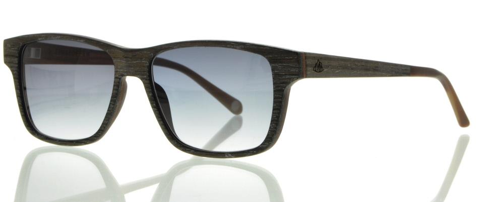 einSTOFFen Sonnenbrille Schwarzfahrer Schwarze Aprikose #3900 YoZSaaVz