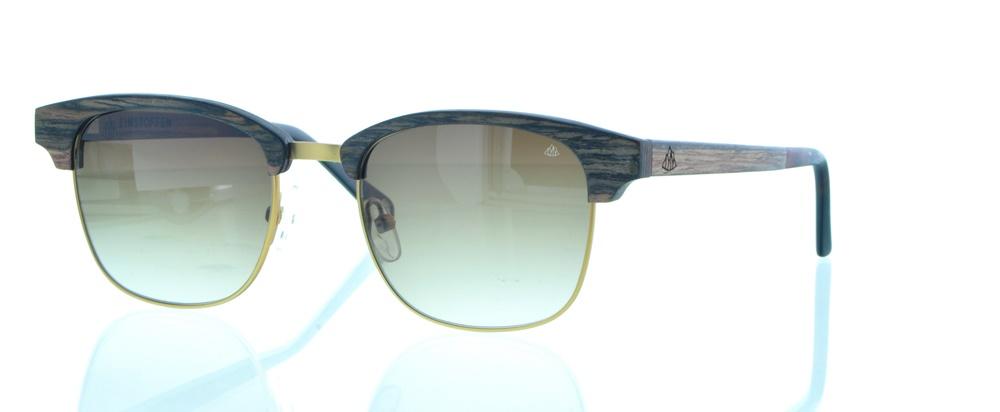 einSTOFFen Sonnenbrille Patenkind Gestreiftes Ebenholz 3996 FCiao