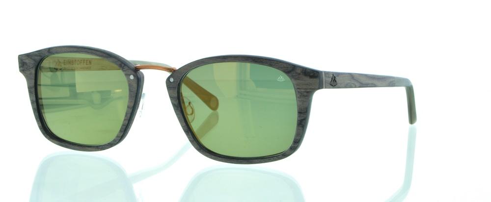 einSTOFFen Sonnenbrille Revolverheld Wallnusswurzel 4012 AbQx3wy