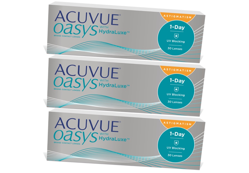 e81b7b88ad67a1 Günstige ACUVUE OASYS for Astigmatism 1-Day with HydraLuxe 90er ...