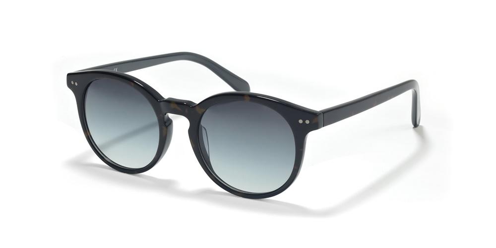 Nika Sonnenbrille Retro Sonnenbrille R2700 in Braun/Gold EFpR0exzzu