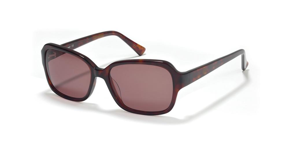 Nika Sonnenbrille Ladies Sonnenbrille S1770 in Braun/Beige Dr2q7MNXR