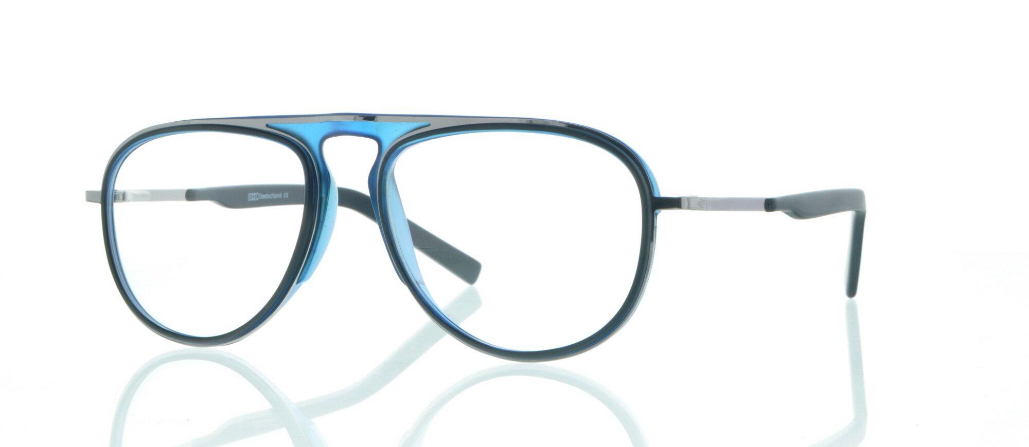 1A-sehen.de Brille 1A-sehen.de 1202 C2 silber/blau 2aAWzb