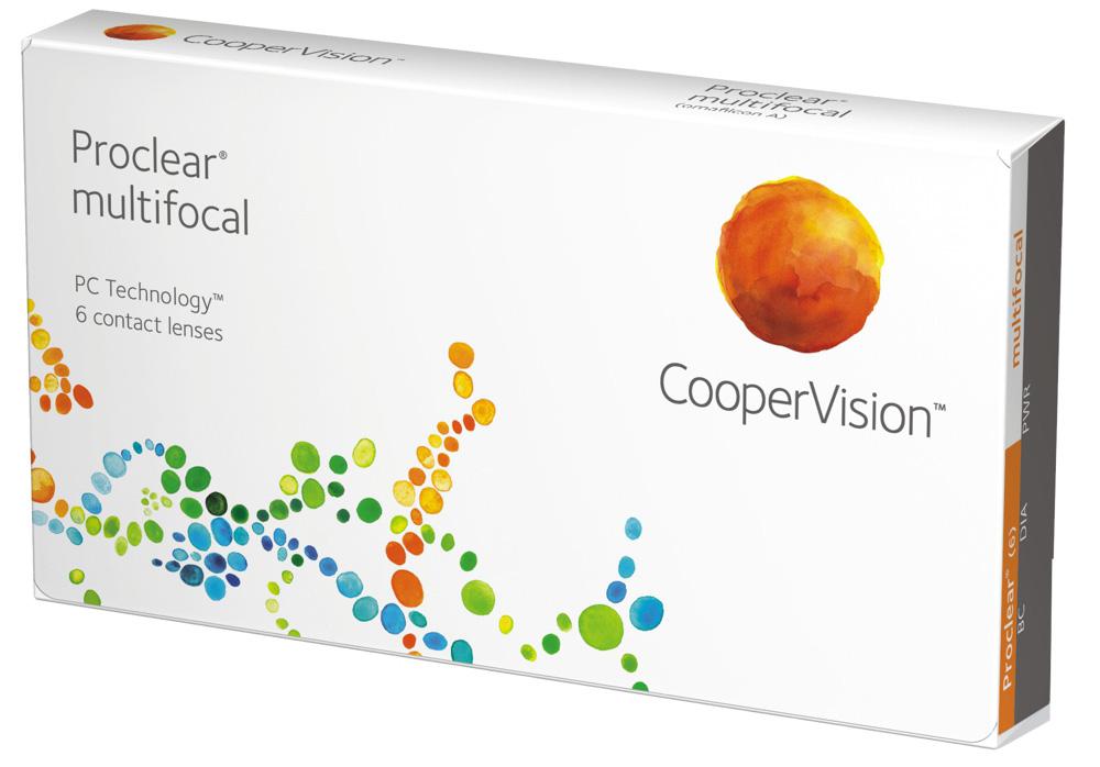 Shop für neueste Sonderrabatt von ziemlich billig Proclear Multifocal Monatslinsen Cooper Vision