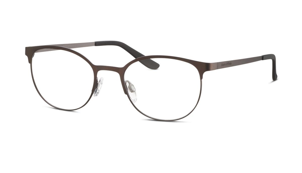 "Brille inkl. Brillengl""ser Marc O´Polo 502089 60 in braun matt Gr. 49/19"