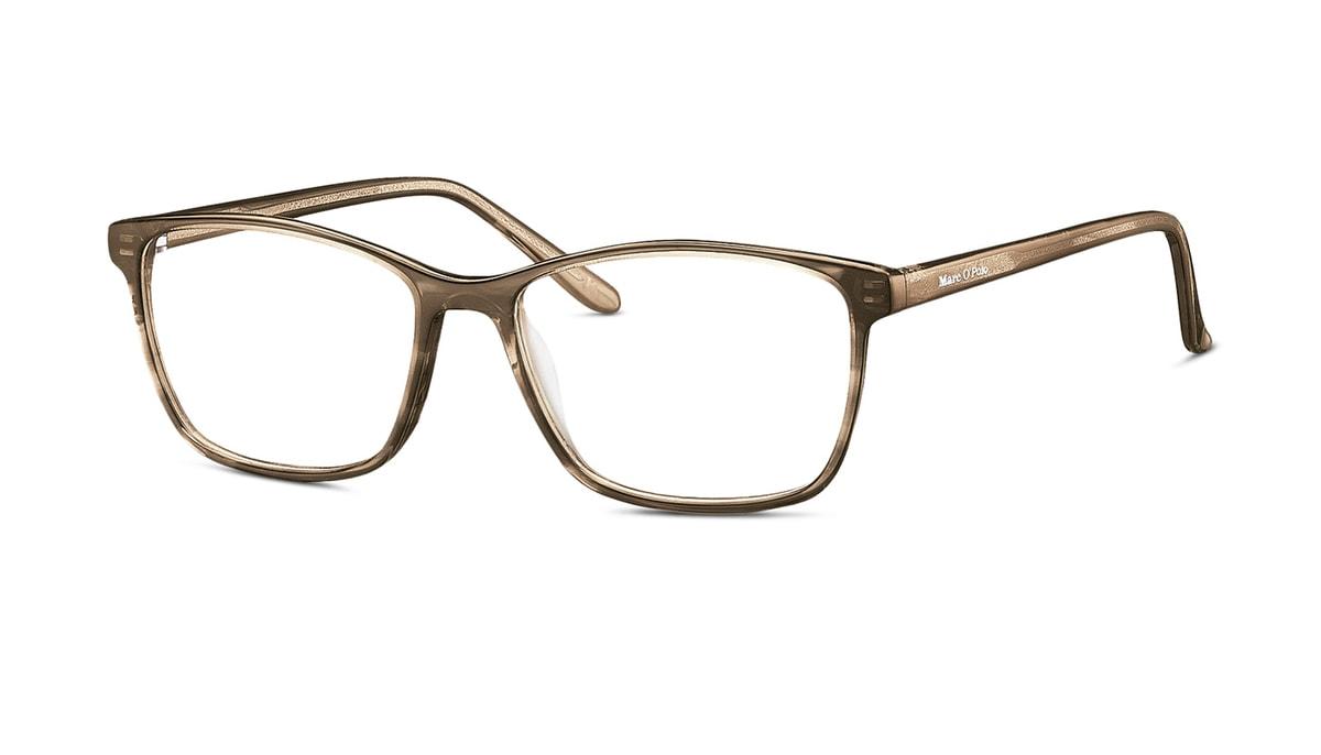 Brille Marc O\'Polo 503078 66 in braun strukturiert Gr. 50/15