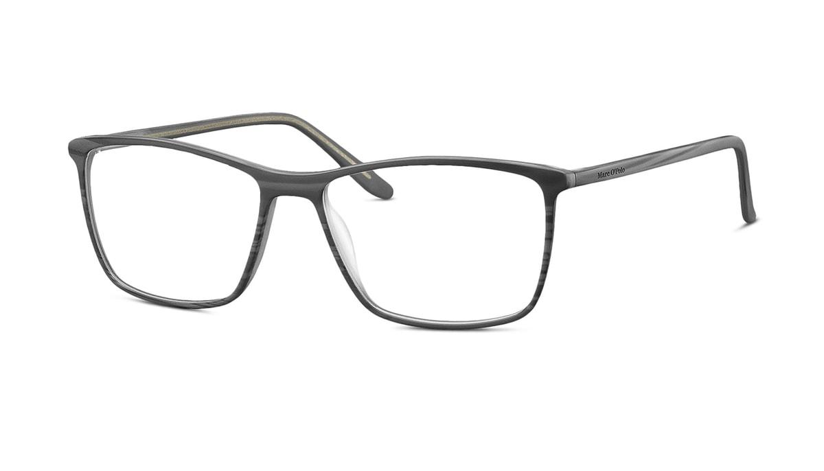 Brille Marc O\'Polo 503079 30 in grau strukturiert Gr. 56/16