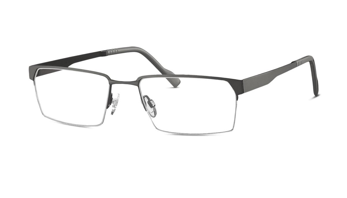 Brille TitanFlex 820688 30 in rauchgrau matt Gr. 57/18