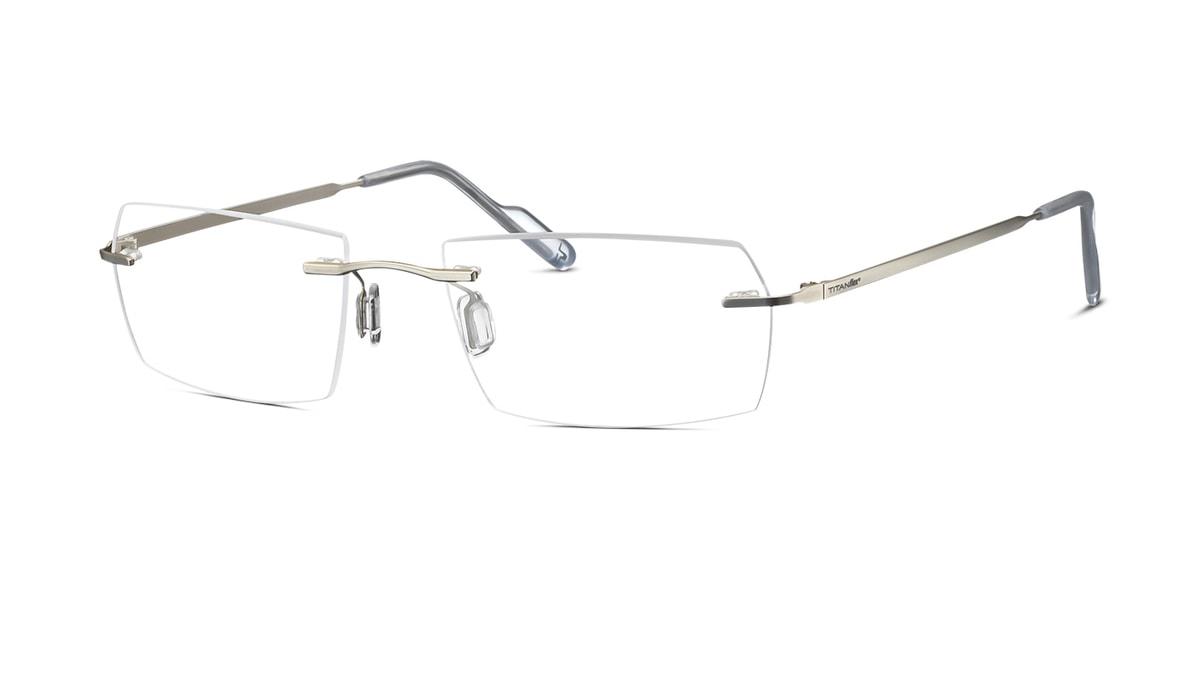 """Brille inkl. Brillengl""""ser Eschenbach TitanFlex 823007 00 in silber ..."""