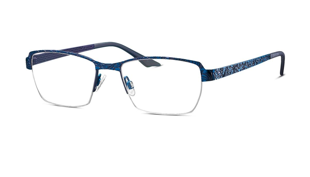 Brille Brendel 902187 70 in blau/violett Gr. 51/17