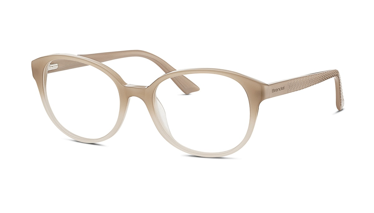 Kunststoffbrille Brendel 903035 90 gr 50/18 in nude Verlauf.