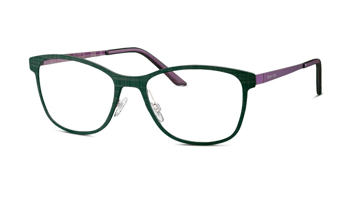 Brille Brendel 903048 40 in dunkelgrün/violett Gr. 54/18
