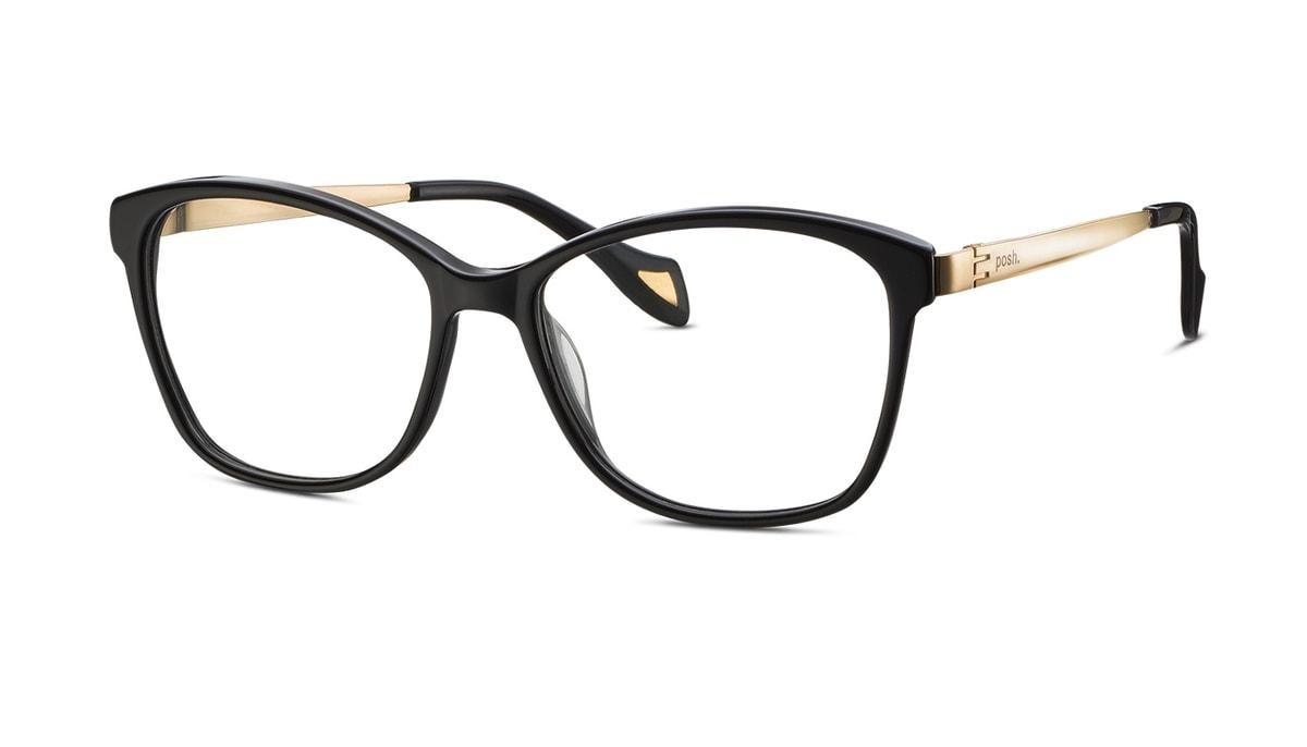 Brillenfassung Brendel 903054 10 Gr. 53/16 in schwarz/gold