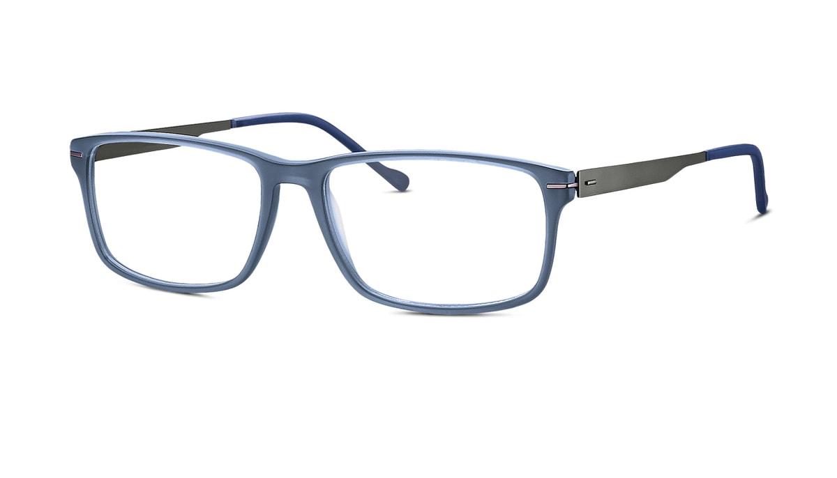 Brille Jos. Eschenbach 983503 70 in blau matt/grau Gr. 57/16