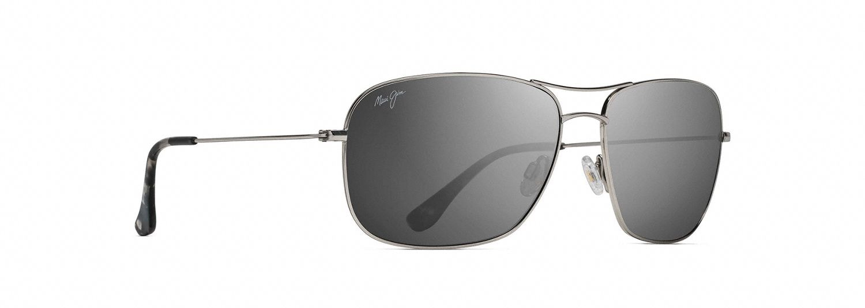 Maui Jim Breezeway Sonnenbrille Silber Silver 63mm wiedWI