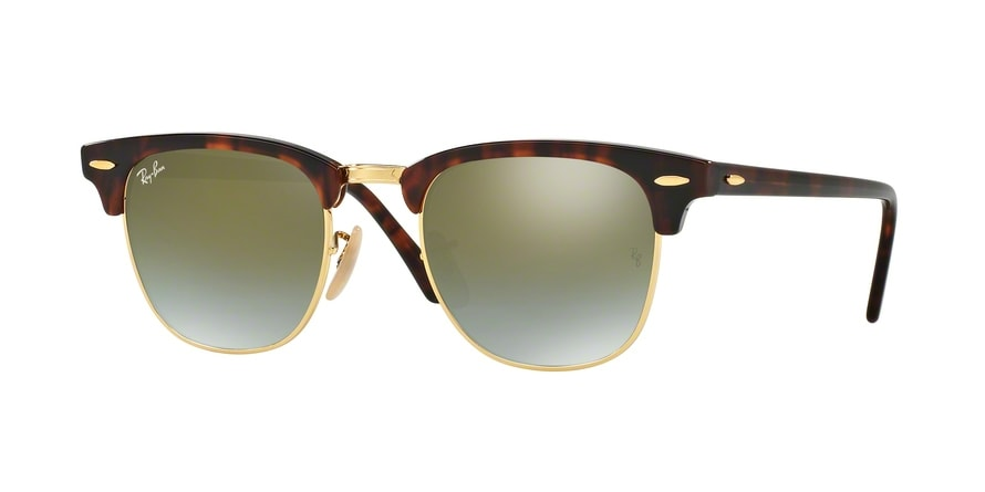 Ray Ban Ray-Ban 0RB3016 CLUBMASTER 990/58 Havanna Gr. 51/21 (mit Sehstärke) MBVB8y