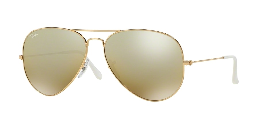 Ray Ban Ray-Ban 0rb3025 Aviator Large Metal 177/4e Gold Gr. 58/14 (mit Sehstärke) hWvpC