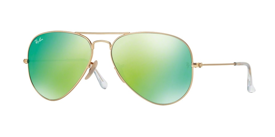 Ray Ban Ray-Ban 0rb3025 Aviator Large Metal 112/17 Gold Gr. 55/14 (mit Sehstärke) XRnTYXzW3a