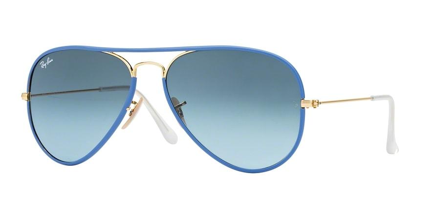 Ray Ban Ray-Ban 0rb3025jm Aviator Full Color 001/4m Leicht Blau Gr. 58/14 (mit Sehstärke) LoYC6