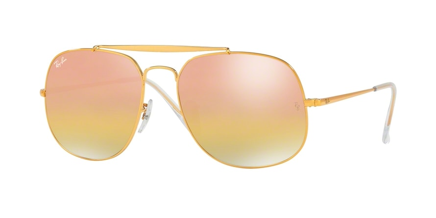 Ray Ban Ray-Ban 0RB3561 THE GENERAL 9001I1 Bronze/Kupfer Gr. 57/17 (mit Sehstärke) 95NlNG51nA