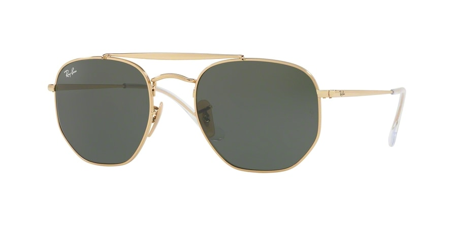 Ray Ban Ray-Ban 0RB3648 THE MARSHAL 001 Gold Gr. 51/21 (mit Sehstärke) 1AakBRC
