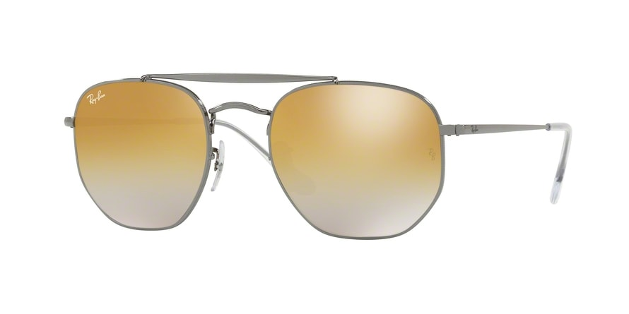 Ray Ban Ray-Ban 0RB3648 THE MARSHAL 001 Gold Gr. 51/21 (mit Sehstärke) Q0VfT8A9Ve