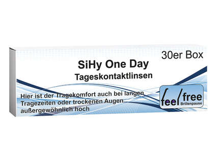 "Produktbild für ""1A - Feel free Brillenpause One Day balance 30er"""