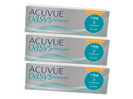 "Produktbild für ""ACUVUE OASYS 1-Day for Astigmatism 90er with HydraLuxe Tageslins"""