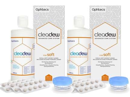 cleadew for soft 2x 385ml 2x 30 tabletten. Black Bedroom Furniture Sets. Home Design Ideas