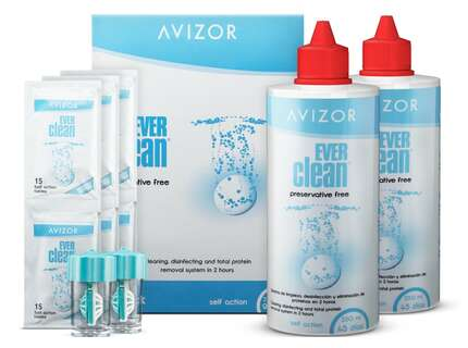 "Produktbild für ""Avizor Ever Clean 2x 350ml + 90 Tabletten Peroxidsystem‎"""