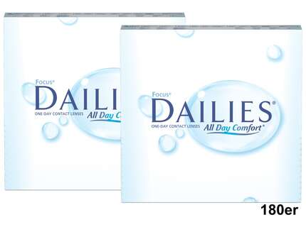 "Produktbild für ""Focus Dailies All Day Comfort 180er Pack Tageslinsen"""
