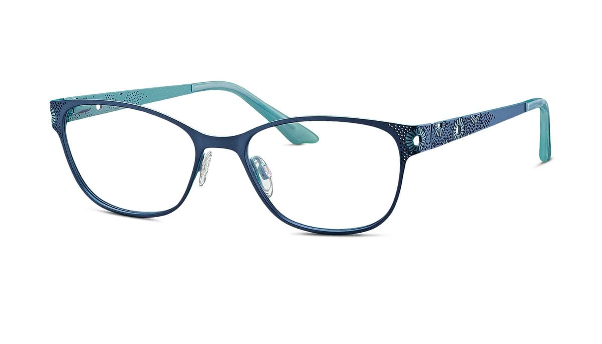 brille brendel 902189 70 in dunkelblau t rkis gr 52 17. Black Bedroom Furniture Sets. Home Design Ideas