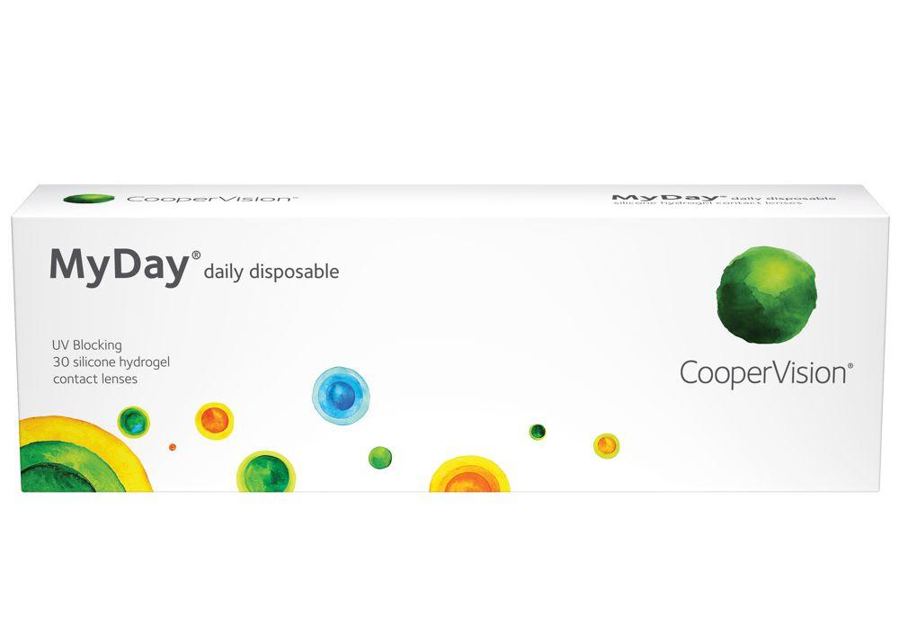 myday kontaktlinsen tageslinsen cooper vision cooper vision. Black Bedroom Furniture Sets. Home Design Ideas