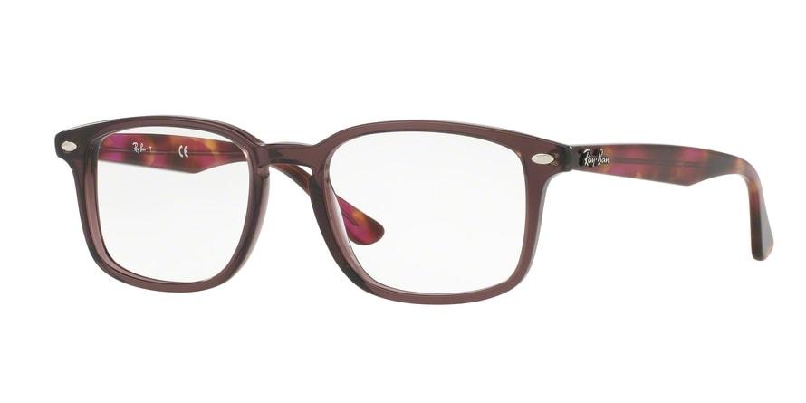 ray ban brille braun weiß
